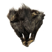 Authentic Classic Fox Face - Genuine Fur Animal Face for Crafts and Costumes