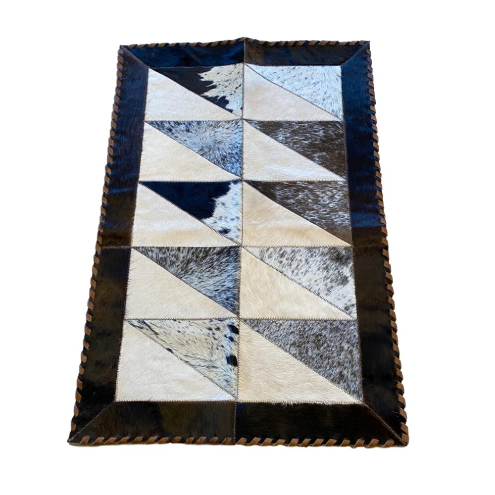 Hair on Cowhide Accent Runner 2' x 3'