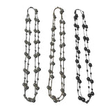 Long Imitation Pearl Necklaces - Fashion Jewelry Assorted 3 Pack