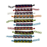 Colorful Wave Bracelets Fashion Accessories - Assorted 6 Pack