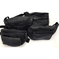 Assorted Leather Fanny Packs - Clearance Seconds