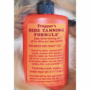 Trappers Hide Tanning Formula - Home Leather Tanning of Furs, Skins and Hides