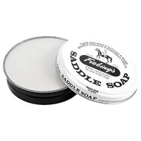 Fiebing's White Saddle Soap 3.5 oz Tin - Clean, Soften & Preserve Leather
