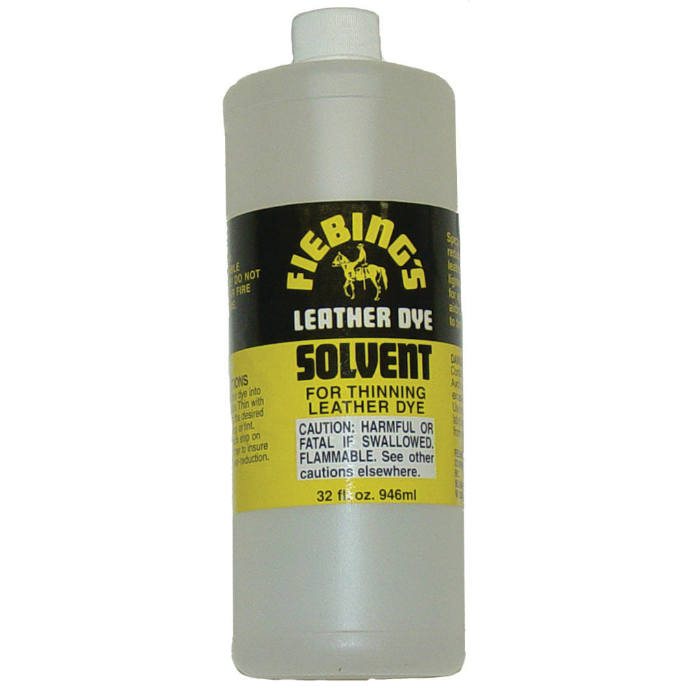 Fiebing's Leather Dye Solvent Thinner Reducer - Quart