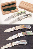 Tracks Afield Collector's Knife - Wolf
