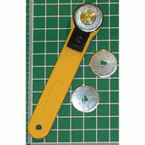 "Rotary Cutter - 1"" Blade - 1.75"" Blade"