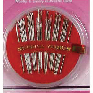 25 Piece High Carbon Steel Craft and Sewing Needles Set