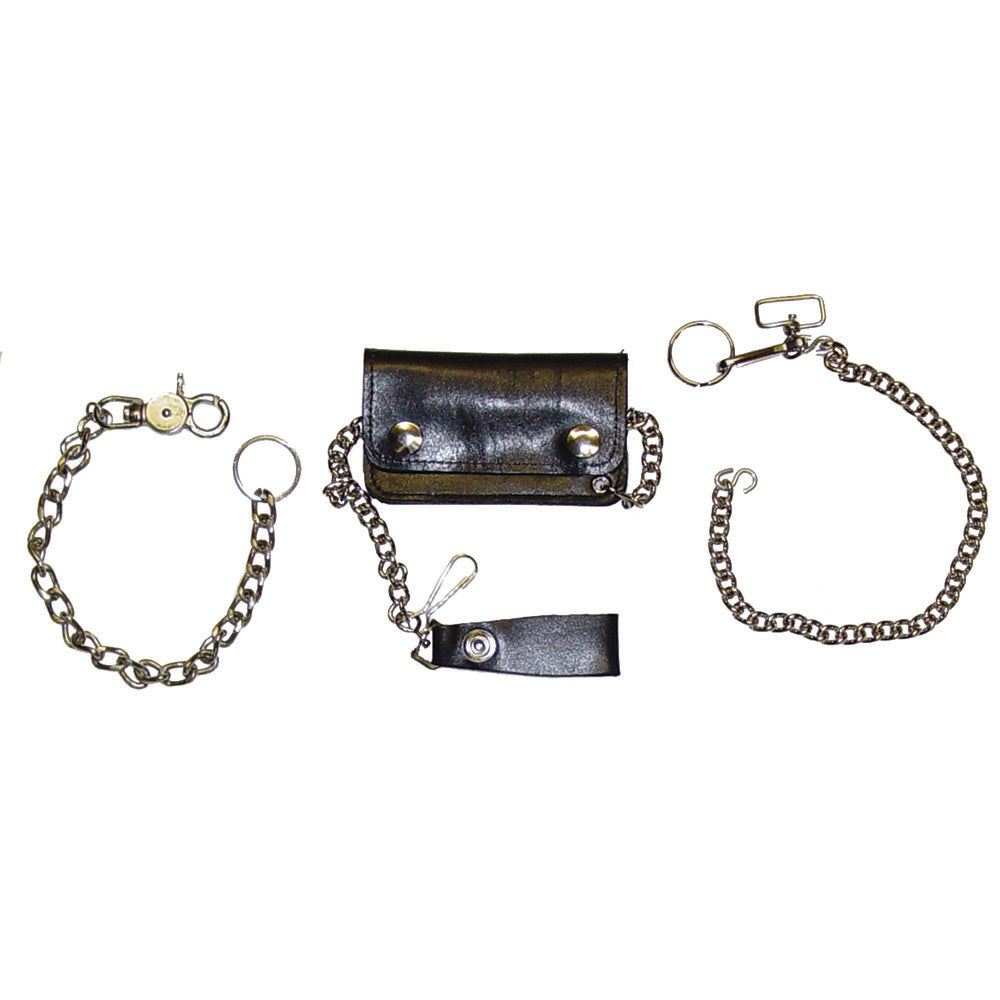 "Trucker & Biker Wallet Chain -12"" - Heavy Duty"