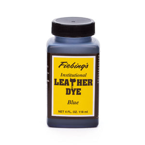 Fiebing's Institutional Leather Dye - Black, Brown, Tan - 4 oz, 1 Quart