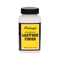 Fiebing's Institutional Leather Finish - 4 oz, 1 Quart