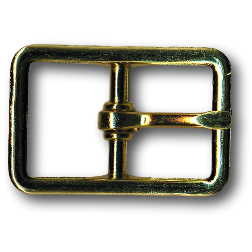 "Zinc Brass Plated Belt Buckle - 0.5"" - 0.75"" - 1"""
