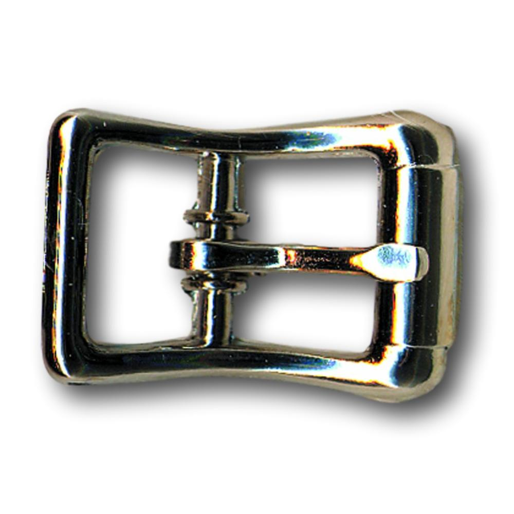 "Zinc Nickel Roller Belt Buckle - 0.5"" - 0.75"" - 1"""