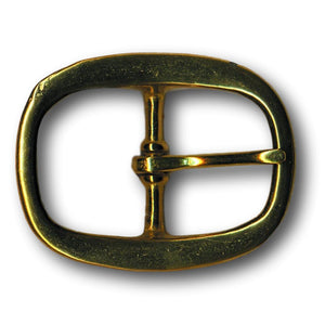 "Solid Brass Mechanical Belt Buckle - 1"" - 1.25"" - 1.5"""