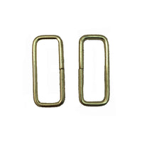 Steel Rectangle Rings - 0.5