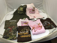 3 Assorted Wildlife T-shirts & Rompers for Little Children