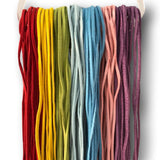 Leather Necklace Cords - Jewelry Making Craft Supplies - 12 Pack