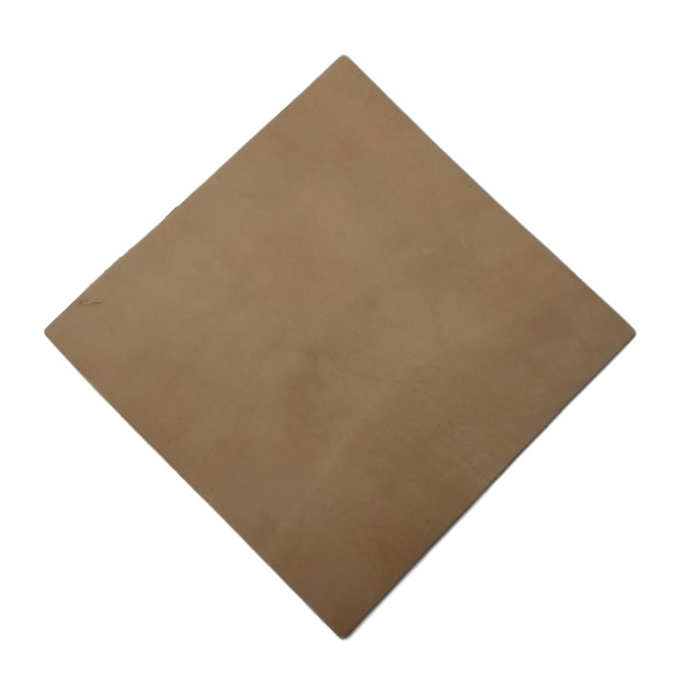 Vegetable Full Grain Oak Leather Squares