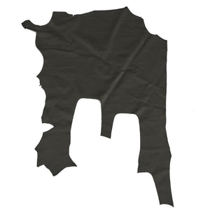 Assorted Print & Smooth Black Cowhide Sides Leather Hides - 3-4 oz or 7-8 oz
