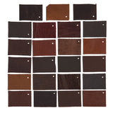 Light Weight Upholstery Leather - Half Leather Hide - 3 oz