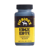 Fiebing's Edge Kote - 4 oz - Black - Brown - Leather Top Coat Finish