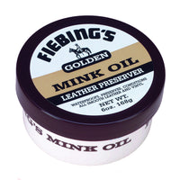Fiebing's Mink Oil Leather Preserver Paste Dressing - 6 oz