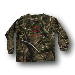 """My First SUV"" Long Sleeve Little Hunter Camo T-shirt - 18 Months - 2T - 4T"