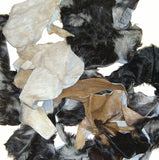 Goat Leather Pieces - Hair On Goat Leather Scraps - 2lb or 5lb Bundle