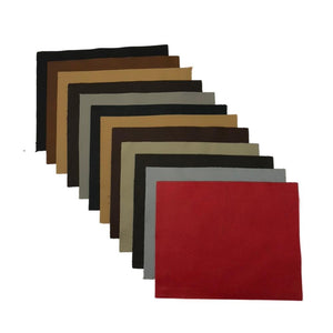 Assorted Upholstery Leather Square Pieces - 3 lb Bag