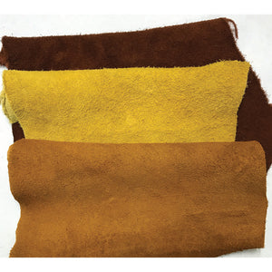 Buffalo Suede 5-7 oz Leather Hides