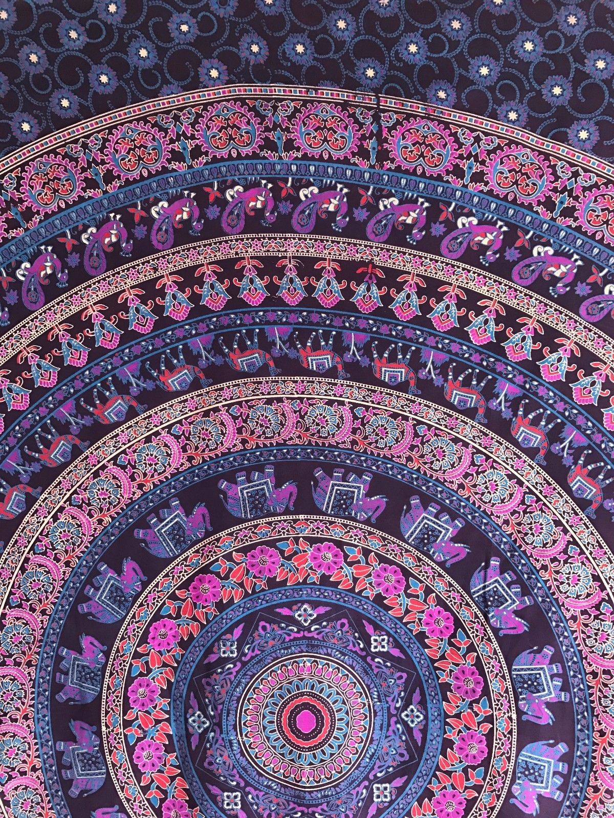 Queen Hippie Mandala Tapestry Indian Wall