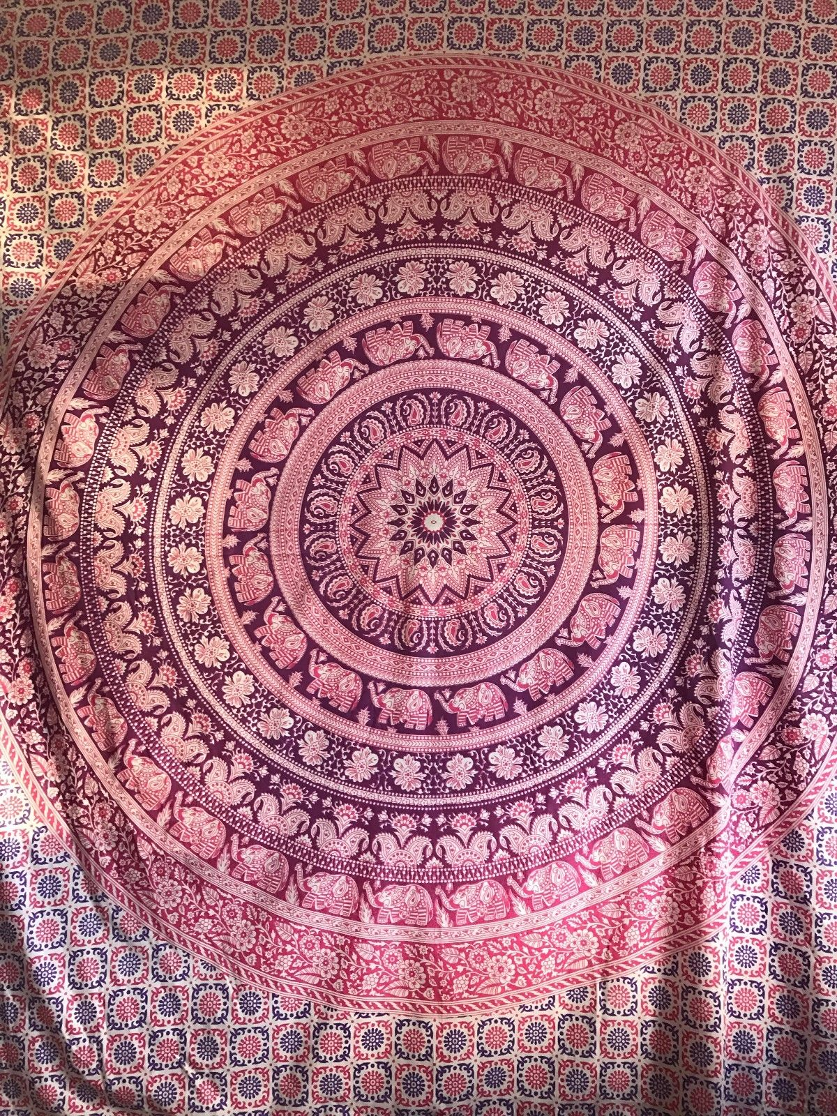 Large Queen Mandala Tapestry Hippie Indian