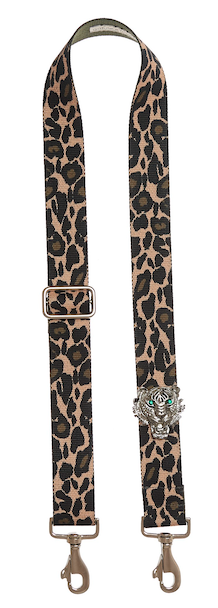 Bag Strap Ozelotprint - Silver Tigermotive G