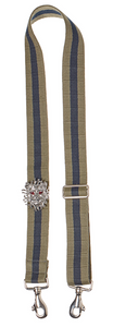 Bag Strap military blue - Silver Lionmotive R