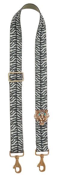Bag Strap Zebraprint - Gold Tigermotive G