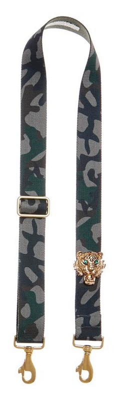 Bag Strap dark camouflage - Gold Tigermotive G