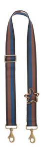 Bag Strap navy-mocha - Gold Star G
