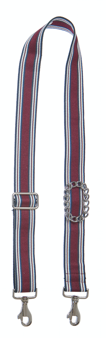 Bag Strap multi-burgundy - Silver Classic Chain