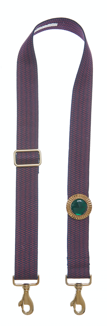 Bag Strap burgundy - Sun Gold Green