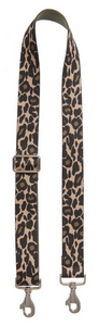 Bag Strap Ozelotprint - Silver / Gold