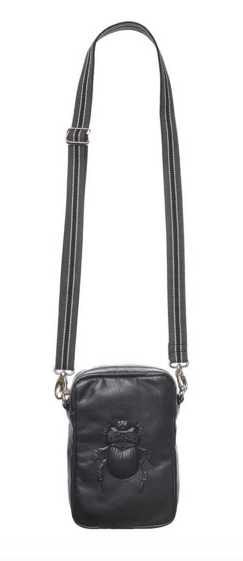 Crossbody Bag - Scarab Black