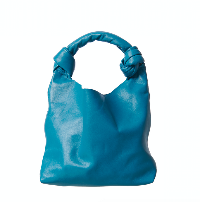 Knot Bag - turquoise