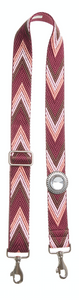 Bag Strap Racer red - Sun Silver Crystal