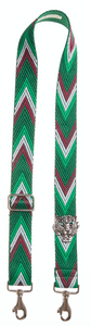 Bag Strap Racer green - Silver Tigermotive G