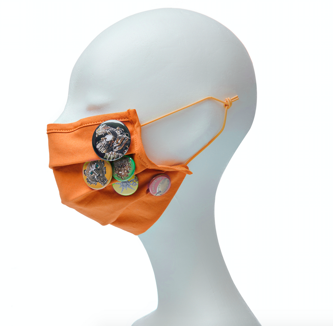 Community Mouth Nose Mask - orange