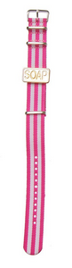 Soap Watch Candy Bracelets - pink