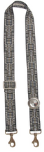Bag Strap Ethno Mix Grey - Sun Silver Crystal
