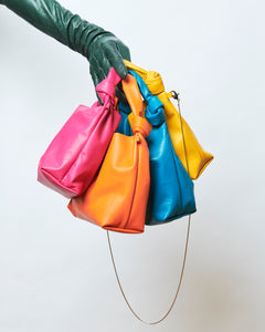 Mini Knot Bag - orange