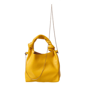 Mini Knot Bag - yellow