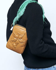 Crossbody Bag - Flower Chocolate