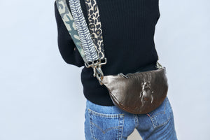 Belt Bag - Scarabmotive Silver